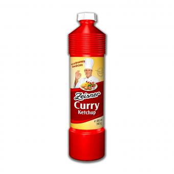 Zeisner Curry Ketchup, 800ml