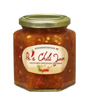 Pe's Chili Jam - 390g-Glas