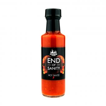 "Fireland's End Of Sanity ""Carolina Reaper"" Hot Sauce"