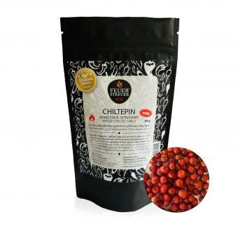 Chiltepin Chili, wild gesammelt, getrocknet - FeuerStreuer Pur