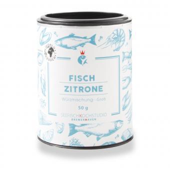 Fischgewürz Zitrone - Seefisch Kochstudio