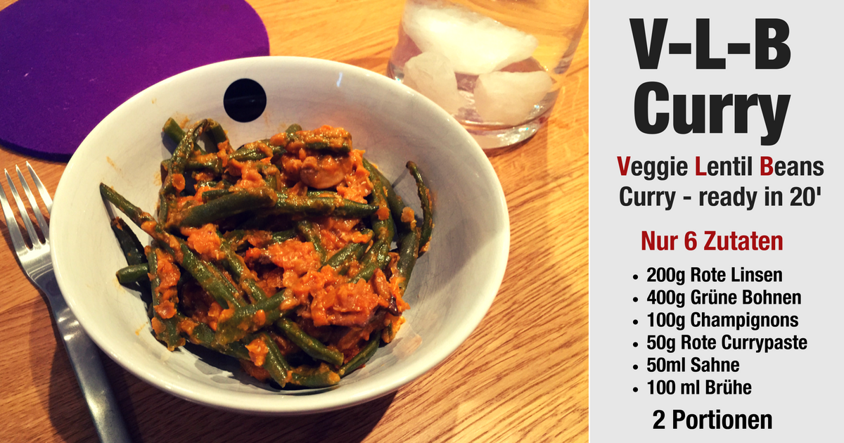 V-L-B Curry mit Currypaste
