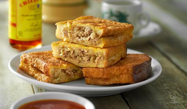 Linghams würziges Penang Baba Sandwich (Roti Baba)