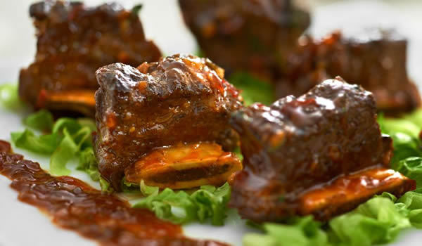 Lingham's Spicy Glazed Beef Ribs